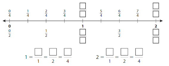 Big Ideas Math Answers Grade 3 Chapter 11 Understand Fraction Equivalence and Comparison 11.3 4