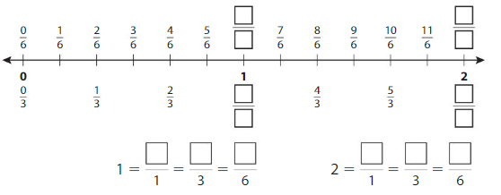 Big Ideas Math Answers Grade 3 Chapter 11 Understand Fraction Equivalence and Comparison 11.3 5