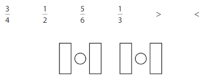 Big Ideas Math Answers Grade 3 Chapter 11 Understand Fraction Equivalence and Comparison 11.7 22
