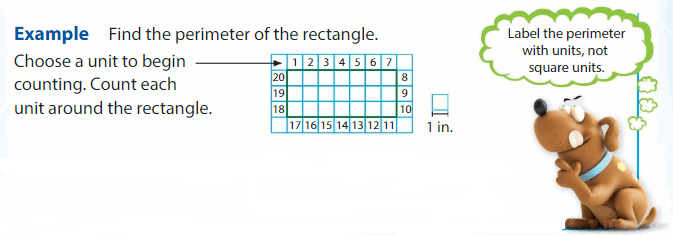Big Ideas Math Answers Grade 3 Chapter 15 Find Perimeter and Area 2