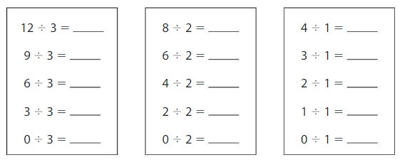 Big Ideas Math Answers Grade 3 Chapter 4 Division Facts and Strategies 4.7 1