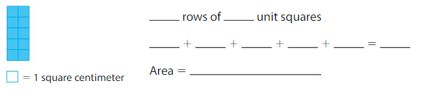 Big Ideas Math Answers Grade 3 Chapter 6 Relate Area to Multiplication 6.3 6