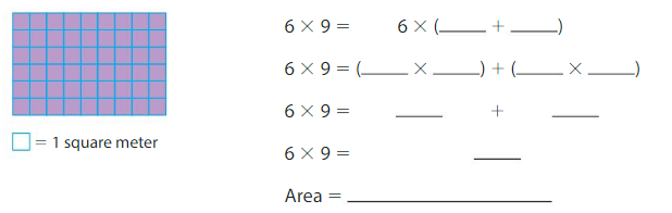 Big Ideas Math Answers Grade 3 Chapter 6 Relate Area to Multiplication 64