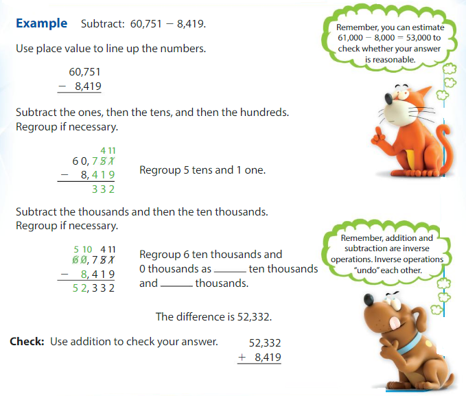 Big Ideas Math Answers Grade 4 Chapter 2 Add and Subtract Multi-Digit Numbers 2.3 3