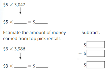 Big Ideas Math Answers Grade 4 Chapter 3 Multiply by One-Digit Numbers 3.3 10