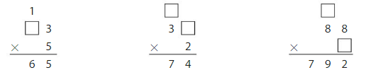 Big Ideas Math Answers Grade 4 Chapter 3 Multiply by One-Digit Numbers 3.7 13