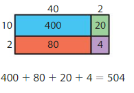 Big Ideas Math Answers Grade 4 Chapter 4 Multiply by Two-Digit Numbers 4.3 18
