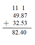Big-Ideas-Math-Answers-Grade-5-Chapter-3-Add-and-Subtract-Decimals-Lesson 3.3 Add Decimals-Show and Grow10..