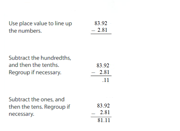 Big-Ideas-Math-Answers-Grade-5-Chapter-3-Add-and-Subtract-Decimals-Lesson 3.4 Subtract Decimals-Apply and Grow-Practice5