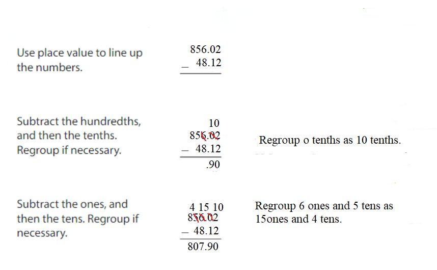 Big-Ideas-Math-Answers-Grade-5-Chapter-3-Add-and-Subtract-Decimals-Lesson 3.4 Subtract Decimals-Apply and Grow-Practice7