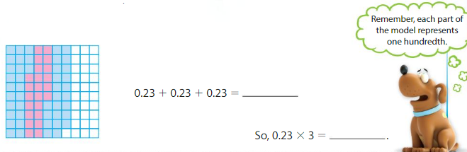 Big Ideas Math Answers Grade 5 Chapter 5 Multiply Decimals 5.3 2