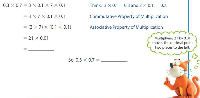 Big Ideas Math Answers Grade 5 Chapter 5 Multiply Decimals 5.7 3