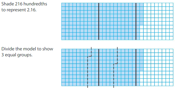 Big Ideas Math Answers Grade 5 Chapter 7 Divide Decimals 7.3 2