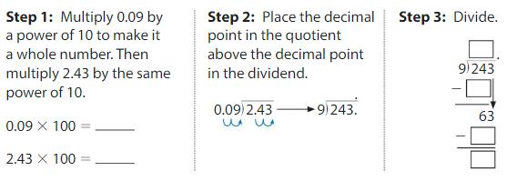 Big Ideas Math Answers Grade 5 Chapter 7 Divide Decimals 7.7 3