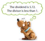 Big Ideas Math Answers Grade 5 Chapter 7 Divide Decimals 7.7 4