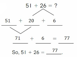 Big-Ideas-Math-Book-2nd-Grade-Answer-Key-Chapter-3-Addition-to-100-Strategies-Addition-to-100-Strategies-Chapter-Practice-3-3.4-Decompose-Add-Tens-Ones-Question-10