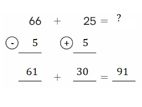 Big-Ideas-Math-Book-2nd-Grade-Answer-Key-Chapter-3-Addition-to-100-Strategies-Addition-to-100-Strategies-Chapter-Practice-3-3.5-Use-Compensation-Add-Question-12