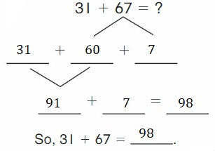 Big-Ideas-Math-Book-2nd-Grade-Answer-Key-Chapter-3-Addition-to-100-Strategies-Decompose-Add-Tens-Ones-Homework-Practice-3.4-Question-4