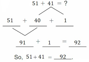 Big-Ideas-Math-Book-2nd-Grade-Answer-Key-Chapter-3-Addition-to-100-Strategies-Decompose-Add-Tens-Ones-Homework-Practice-3.4-Question-6