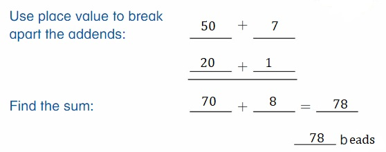 Big-Ideas-Math-Book-2nd-Grade-Answer-Key-Chapter-3-Addition-to-100-Strategies-Lesson-3.3-Use-Place-Value-to-Add-Show-Grow-Question-12