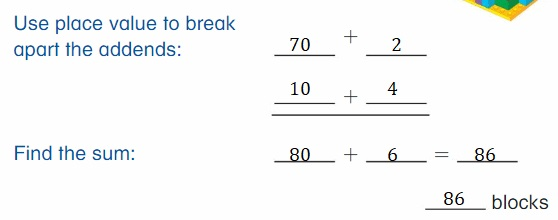 Big-Ideas-Math-Book-2nd-Grade-Answer-Key-Chapter-3-Addition-to-100-Strategies-Lesson-3.3-Use-Place-Value-to-Add-Think-Grow-Modeling-Real-Life
