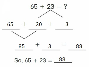 Big-Ideas-Math-Book-2nd-Grade-Answer-Key-Chapter-3-Addition-to-100-Strategies-Lesson-3.4-Decompose-Add-Tens-Ones-Apply-Grow-Practice-Question-6