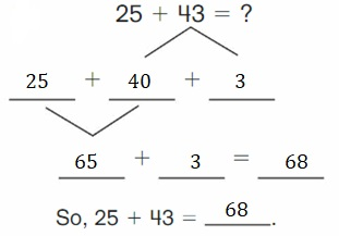 Big-Ideas-Math-Book-2nd-Grade-Answer-Key-Chapter-3-Addition-to-100-Strategies-Lesson-3.4-Decompose-Add-Tens-Ones-Apply-Grow-Practice-Question-8