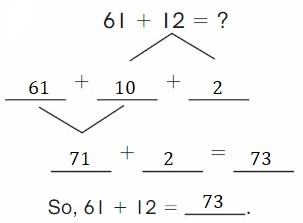 Big-Ideas-Math-Book-2nd-Grade-Answer-Key-Chapter-3-Addition-to-100-Strategies-Lesson-3.4-Decompose-Add-Tens-Ones-Show-Grow-Question-1