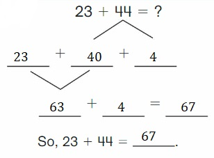Big-Ideas-Math-Book-2nd-Grade-Answer-Key-Chapter-3-Addition-to-100-Strategies-Lesson-3.4-Decompose-Add-Tens-Ones-Show-Grow-Question-3