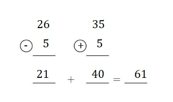 Big-Ideas-Math-Book-2nd-Grade-Answer-Key-Chapter-3-Addition-to-100-Strategies-Lesson-3.5-Use-Compensation-Add-Apply-Grow-Practice-Question-5