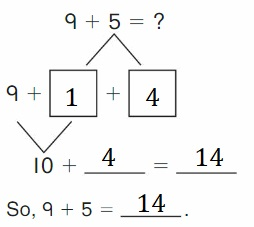 Big-Ideas-Math-Book-2nd-Grade-Answer-key-Chapter-2-Fluency-and-Strategies-within-20-Lesson-2.4-Make-10-to-Show-Grow-Add-Question-2