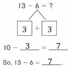 Big-Ideas-Math-Book-2nd-Grade-Answer-key-Chapter-2-Fluency-and-Strategies-within-20- Lesson 2.7-Get-to-10-to-Subtract-Show-Grow-Question-1