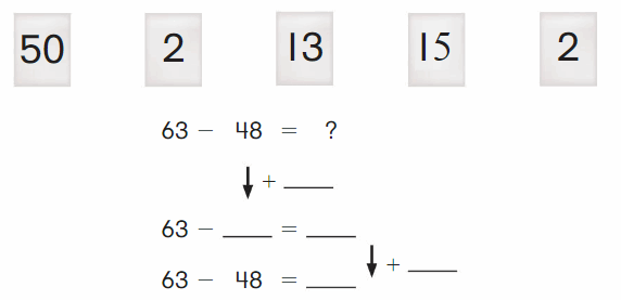 Big Ideas Math Solutions Grade 2 Chapter 5 Subtraction to 100 Strategies 122