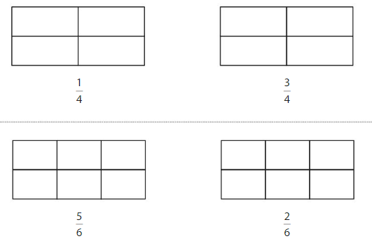 Big Ideas Math Solutions Grade 3 Chapter 11 Understand Fraction Equivalence and Comparison 11.4 1