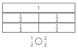 Big Ideas Math Solutions Grade 3 Chapter 11 Understand Fraction Equivalence and Comparison 11.4 19