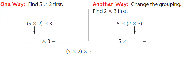 Big Ideas Math Solutions Grade 3 Chapter 3 More Multiplication Facts and Strategies 3.8 1