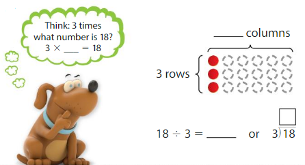 Big Ideas Math Solutions Grade 3 Chapter 4 Division Facts and Strategies 4.4 1