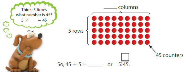 Big Ideas Math Solutions Grade 3 Chapter 4 Division Facts and Strategies 4.8 1