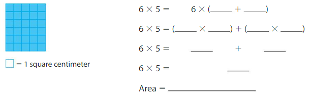 Big Ideas Math Solutions Grade 3 Chapter 6 Relate Area to Multiplication 6.4 11