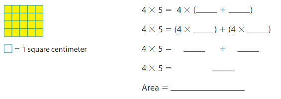 Big Ideas Math Solutions Grade 3 Chapter 6 Relate Area to Multiplication 6.4 4
