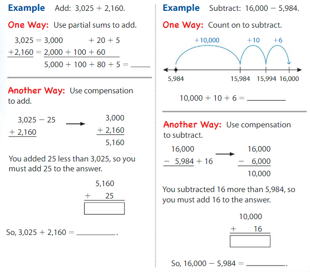 Big Ideas Math Solutions Grade 4 Chapter 2 Add and Subtract Multi-Digit Numbers 2.4 2