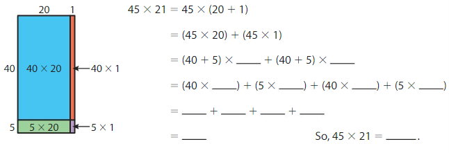 Big Ideas Math Solutions Grade 4 Chapter 4 Multiply by Two-Digit Numbers 4.4 10