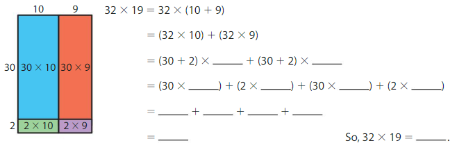 Big Ideas Math Solutions Grade 4 Chapter 4 Multiply by Two-Digit Numbers 4.4 3
