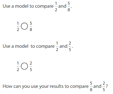 Big Ideas Math Solutions Grade 4 Chapter 7 Understand Fraction Equivalence and Comparison 7.4 1