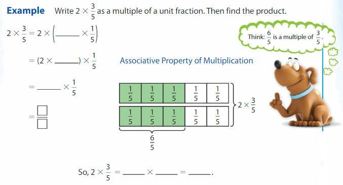 Big Ideas Math Solutions Grade 4 Chapter 9 Multiply Whole Numbers and Fractions 13