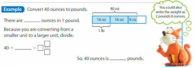 Big Ideas Math Solutions Grade 5 Chapter 11 Convert and Display Units of Measure 58