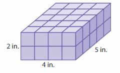 Big Ideas Math Solutions Grade 5 Chapter 13 Understand Volume 9
