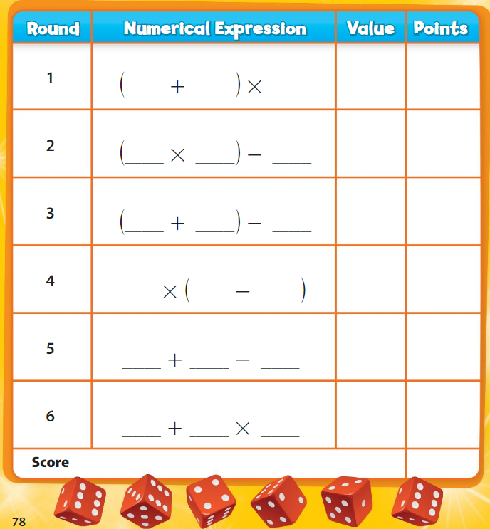 Big Ideas Math Solutions Grade 5 Chapter 2 Numerical Expressions 3