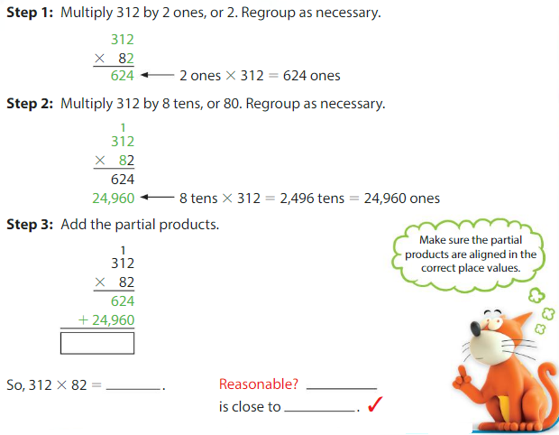 Big Ideas Math Solutions Grade 5 Chapter 4 Multiply Whole Numbers 4.4 2