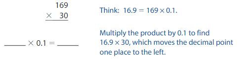 Big Ideas Math Solutions Grade 5 Chapter 5 Multiply Decimals 5.4 8